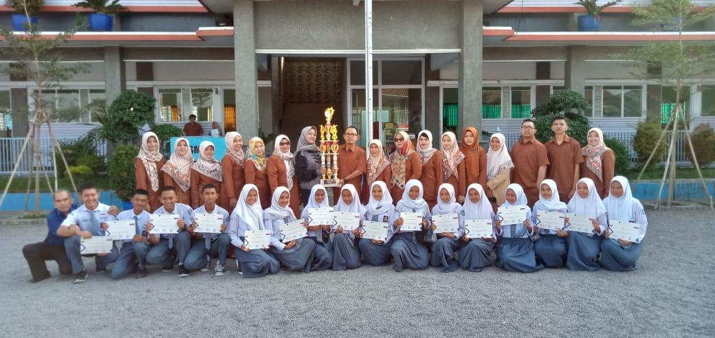 Juara 3 Madya Paskibra se-Pulau Jawa