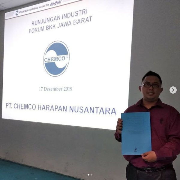 MoU dengan PT. Chemco Harapan Nusantara