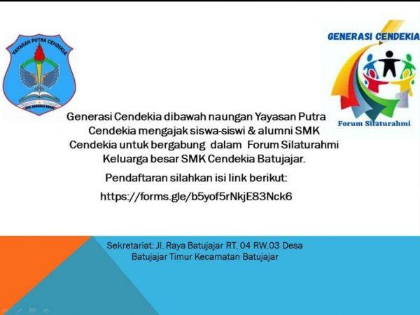 Forum Silaturahmi Generasi Cendekia